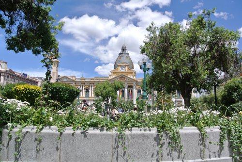 Plaza in La Paz