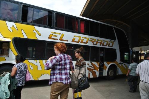 First Bus - La Paz to Santa Cruz