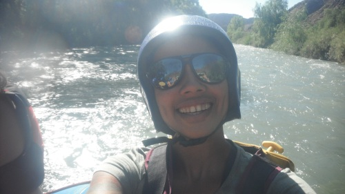 White water rafting in Valle Grande