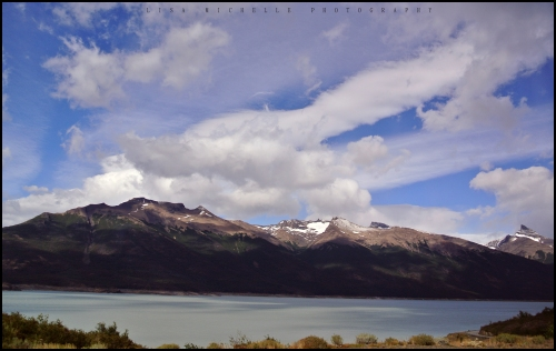 Bus ride to Perito Moreno Glacier outside El Calafate