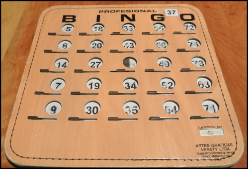BINGO night & I actually won!!!