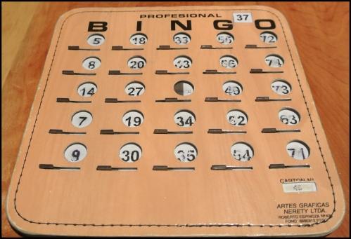 BINGO night & I actually won!!!