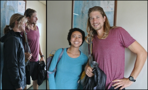 It also helped that we had a Brad Pitt look alike on the boat - Utaw, one of the travelers that we KEEP bumping into post-NaviMag!
